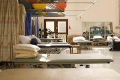 De fysioafdeling van het ziekenhuis royalty-vrije stock afbeelding