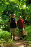 De gaande visserij van broers Stock Foto