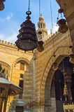 De gamla arabiska ljusen Royaltyfri Foto