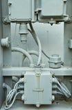 De gamla processoraskarna. Royaltyfri Foto