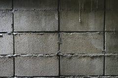De gamla väggtegelstenarna Royaltyfri Fotografi