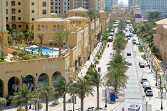 De gang bij Jumeirah-Strandwoonplaats Royalty-vrije Stock Afbeelding