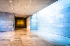 De gang in de Bouw van het Oosten van het National Gallery van Kunst, was Stock Afbeelding