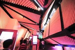 De gang lamp-Chinese Expo 2010 het Paviljoen van de stadsmensen van Shanghai Stock Foto