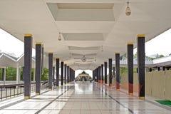 De gang van de moskee Stock Fotografie
