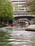 De Gang van de Rivier van San Antonio. Stock Afbeelding