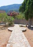 De gang van de tuinsteen Royalty-vrije Stock Afbeelding