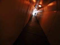 De Gang van de tunnel stock foto's