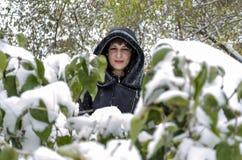 De gang van de winter Stock Fotografie