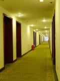 De gang van het hotel Royalty-vrije Stock Afbeelding