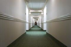 De gang van het hotel Royalty-vrije Stock Fotografie