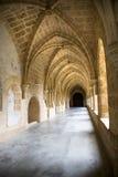 De gang van het klooster Stock Foto