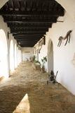 De gang van het Paleis van Sidonia van Mediana Royalty-vrije Stock Foto