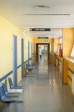 De gang van het ziekenhuis Royalty-vrije Stock Foto