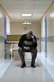 De gang van het ziekenhuis royalty-vrije stock afbeeldingen