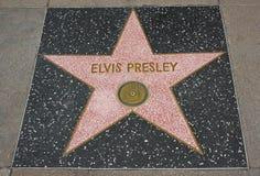 De Gang van Hollywood van Bekendheid - Elvis Presley royalty-vrije stock fotografie