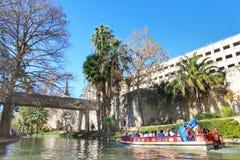 De Gang van de rivier in San Antonio, Texas stock fotografie