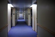 De gangbinnenland van het hotel Royalty-vrije Stock Fotografie