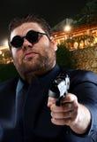 De gangster van de maffia Stock Foto's