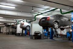 De garage van de reparatie Royalty-vrije Stock Foto's