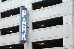 De Garage van het parkeren Stock Afbeeldingen