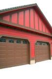 De Garage van twee Auto Royalty-vrije Stock Afbeelding