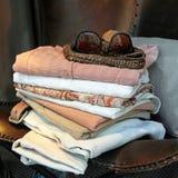 De garderobe van de zomer Stock Afbeelding