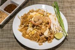 De garnalen vullen Thai op Stock Afbeelding