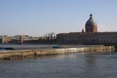 De Garonne, Toulouse Stock Afbeeldingen