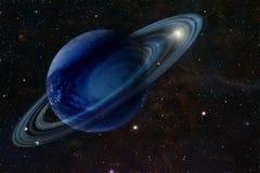De gasreus in ruimte stock illustratie