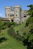 De gateway van het kasteel royalty-vrije stock afbeelding