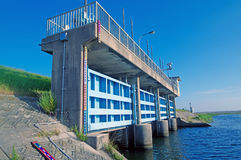 De gateway van het poortenwater stock afbeelding