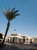 De gateway van Taba, Egypte Stock Foto's