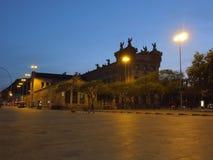 De gauche Barcelone Photographie stock libre de droits