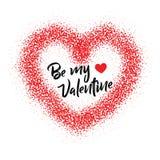 De geïsoleerde achtergrond van de valentijnskaartenliefde hart royalty-vrije stock afbeelding