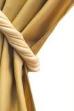 De geïsoleerde foto van het gordijn band met het knippen van flard Royalty-vrije Stock Afbeelding