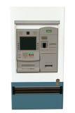 De Geïsoleerde machine van ATM - Royalty-vrije Stock Foto's