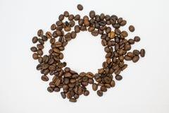 De geïsoleerde studio van koffiebonen Royalty-vrije Stock Fotografie