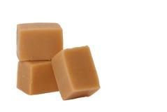 De geïsoleerdeA snoepjes van de karamel, stock fotografie