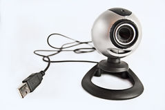 De geïsoleerdec camera van het Web usb Royalty-vrije Stock Afbeelding