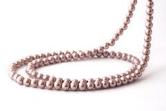 (De geïsoleerdee) halsband van de parel royalty-vrije stock afbeelding