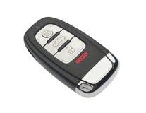 De geïsoleerdee sleutel van de auto, Stock Fotografie