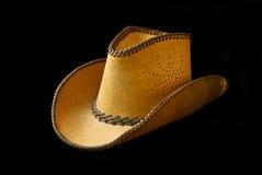 De Geïsoleerdef Hoed van de cowboy, Stock Fotografie