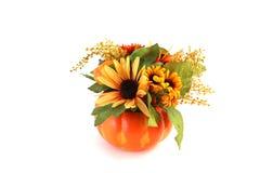 De geïsoleerdek Bloemen van Halloween Stock Afbeelding