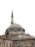 De geïsoleerden Moskee van Rustempasa, Istanboel, Turkije Stock Afbeelding