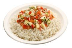 De geïsoleerdes rijst van Caprese - Royalty-vrije Stock Afbeelding