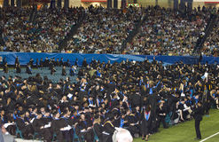 de Geórgia de estado da universidade cerimónia 2008 de graduação Imagem de Stock Royalty Free