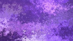 De geanimeerde bevlekte achtergrond naadloze lijnvideo - waterverfeffect - ultraviolet en lichte lavendelpurple kleurt stock footage