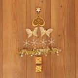 De geassorteerde Decoratie van Kerstmis Stock Fotografie