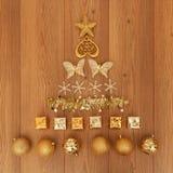 De geassorteerde Decoratie van Kerstmis Royalty-vrije Stock Foto